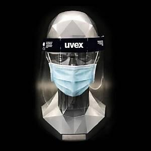 Uvex 9710514 beschermend gelaatsscherm in PET