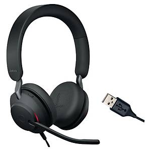 Headset Jabra Evolve2 40 UC, Duo/Stereo, USB-A