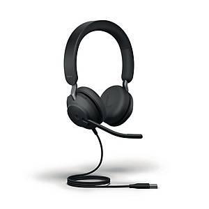 Jabra Evolve2 40 MS Stereo USB-A kuuloke langallinen