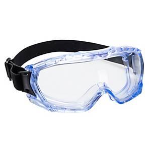 /Maschera di protezione Portwest PW24 Ultra Vista - lente trasparente