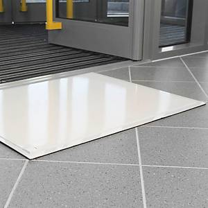 Láminas antisuciedad Coba Europe Clean-Step - 600 x 760 mm -  blanco