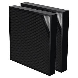 Filtro ibrido Fellowes per purificatori d aria AeraMax Pro 3/4 nero - conf. 2