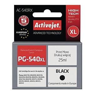 Tusz ACTIVEJET AC-540RX zamiennik CANON PG540XL BLK