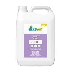 Sabonete de mãos líquido Eco Ecover com doseador - fragrância lavanda - 5 l