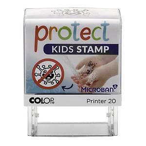 Tampon Colop Protect Kids pour l hygiène des mains