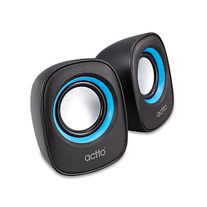 ACTTO SPK-17 WIRE MINI SPEAKER BLACK
