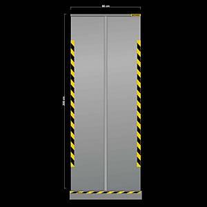 Jalema screen transparentp roll up 80x200cm