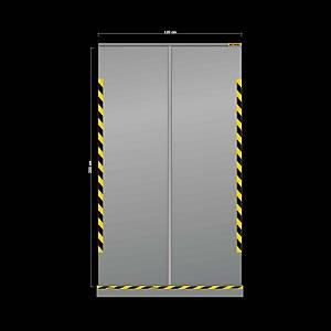 Jalema screen transparentp roll up 120x200cm