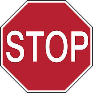 Pictogramme STOP, polyester, 350 mm