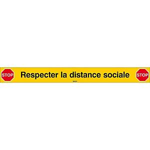 Stoplijn social distancing, L 80 cm, Franstalig