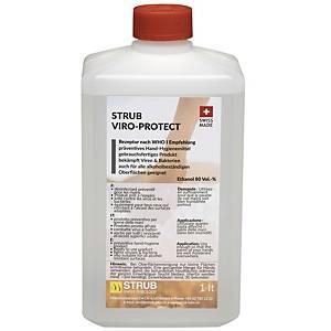Hygienemittel Strub Viro-Protect, 1 Liter, für Hände und Oberflächen