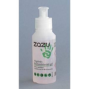 ZAZU higiéniai kézfertőtlenítő gél/pumpás, 100 ml