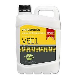 Limpiador desinfectante V801 - 5 l
