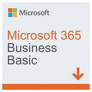 Logiciel Microsoft 365 Business Basic - 1 utilisateur - 1 an