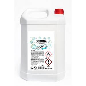 Corona Antivir na dezinfekci rukou, 5 l
