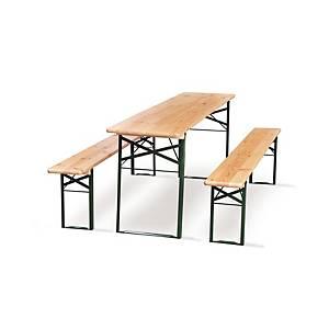Pikniková súprava Malow BS so stolom a dvoma lavicami, 220 cm
