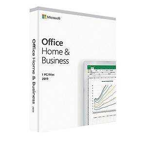 MICROSOFT OFFICE HOME BUSINESS 2019 BOX