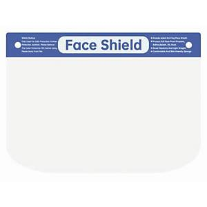 BX10 ZKSK MEDICAL FACE SHIELD CLR