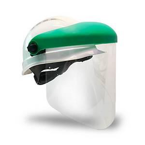 Pantalla Faru A20 con anclajes de casco