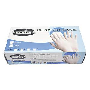 Mr Mark Nitrile Glove Powder Free - M Size (Box of 100)