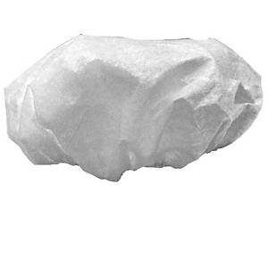 Pack de 50 toucas descartáveis Norvil - branco