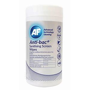 PK60 AF ANTIBAC SANITIZING SCREEN WIPES