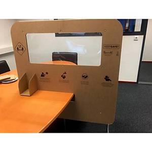 Pk10 kartonnen scherm type d 800x800mm
