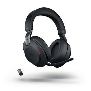 Casque Jabra Evolve2 85 MS, duo/stéréo, station recharge incl., bluetooth, USB-A