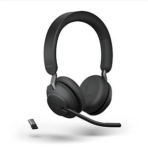 Casque d écoute Jabra Evolve2 65 MS, uo/stéréo, bluetooth