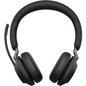 Jabra Evolve2 65MS stereo vezeték nélküli telefonos headset, bluetooth