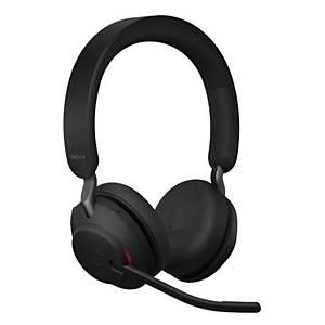 Jabra Evolve2 65 MS stereo headset, zwart