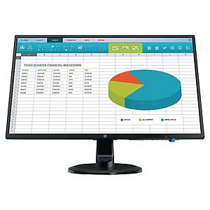 Ecran PC HP N246v - 24  - LED - Full HD - noir
