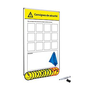 Safety bord with accessories, 60x90, French