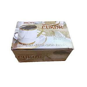 Hygienisch verpackter Rohrzucker, Packung mit 40 Stück á 4 g