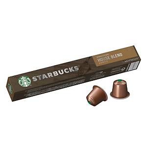 STARBUCKS House Blend Lungo by Nespresso - Box of 10