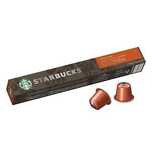 STARBUCKS Single Origin Colombia by Nespresso - Box of 10