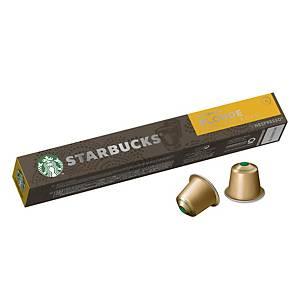 星巴克NESPRESSO 黃金特濃烘焙咖啡粉囊 10粒裝