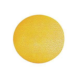 Znacznik podłogowy DURABLE 170404 kształt kropka, żółty, 10 szt