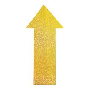 Znacznik podłogowy DURABLE 170504 kształt strzałka, żółty, 10szt