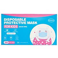 Kids Face Mask 3 Ply - Box of 50