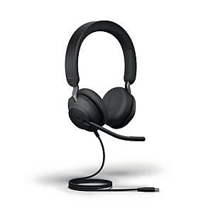 Jabra Evolve2 40 MS Stereo USB-C kuuloke langallinen