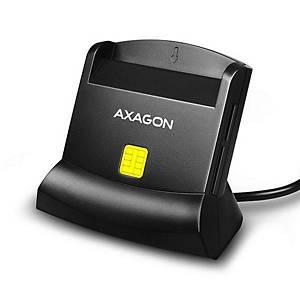 Externí čtečka karet Axagon CRE-SM2, 4 sloty