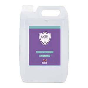 Shield Guard Sanitiser Hand Gel 5L
