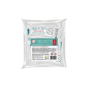 Hellma Desinfektionstücher, 70 Tücher