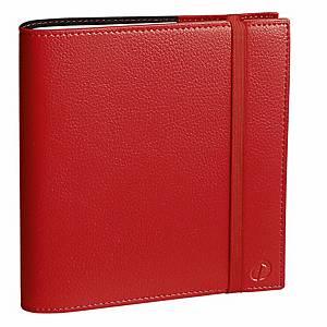 Agenda settimanale Quo Vadis Time&Life medium rosso
