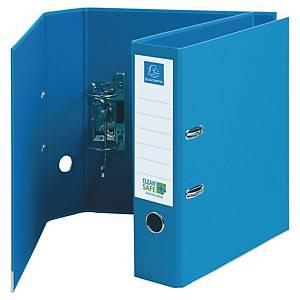 Exacompta Clean Safe Premium Touch emelőkaros iratrendező, szélesség 7 cm, kék