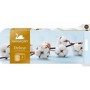 Toaletný papier Harmony Cotton Deluxe, 10 roliek v balení