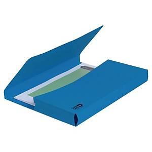 Exacompta Clean'Safe Sammelbox, blau, Packung mit 5 Stück