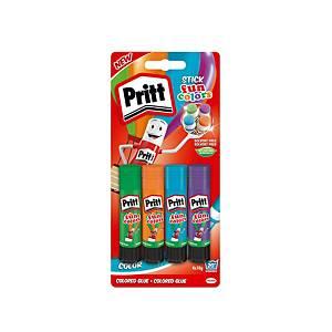 Colla colorata Pritt Fun Color 10 g - Conf. 4