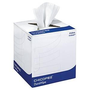 Papier d essuyage Chicopee Durawipe - blanc - 1 bobine